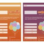Einladungskarte 2